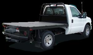 Gooseneck truck body