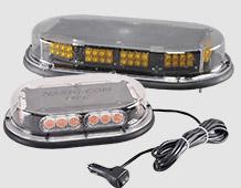Work truck warning lights